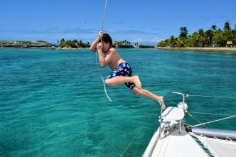 Glen's great leap.