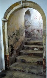 Staircase at Castillo de San Cristobal