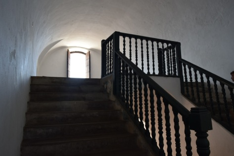 Staircase at Castillo de San Cristobal