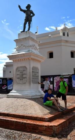 Statue of Juan Ponce De Leon
