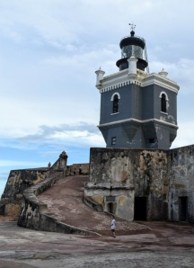 Lighthouse at the fortress