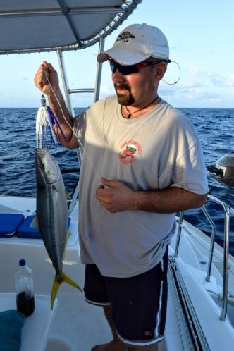Juan with his big catch