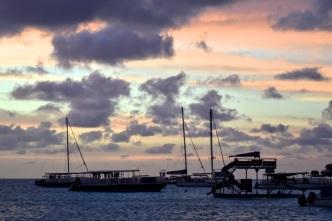 Sunset over Grand Turk