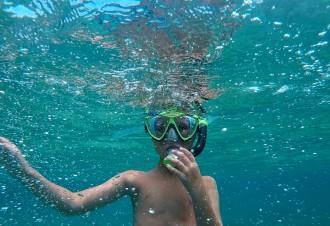 Snorkeler Erik