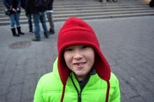 Erik outside The MET