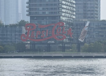 Pepsi-Cola sign in Long Island City