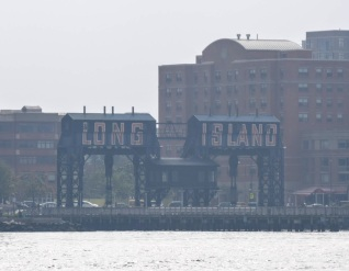Long Island sign in Gantry State Park