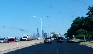 On our way to the big city