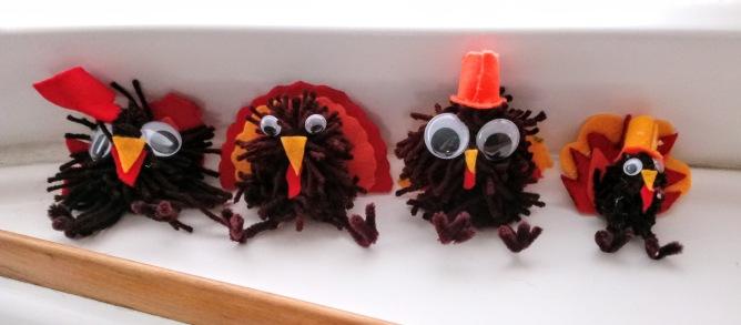 Yarn Turkeys