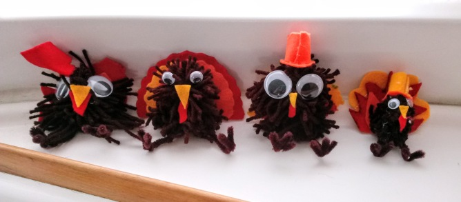 Yarn Turkeys