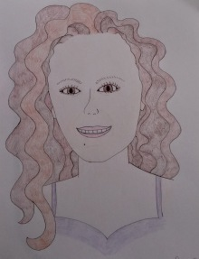 Sarah's self-portrait