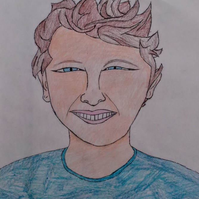 Liam's self-portrait