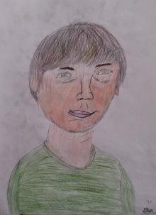 Glen's self-portrait