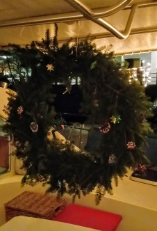 "Our ""tree"" wreath"