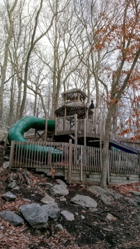 Playground at the Nature Center