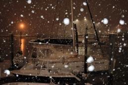 Varekai in the snow