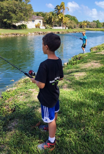 YMCA fishing