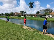 YMCA fishing