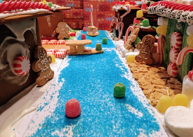 Gingerbreadville on the ICW